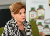 Zuzana Rajčániová, obchodní ředitelka společnosti Interpharm Slovakia