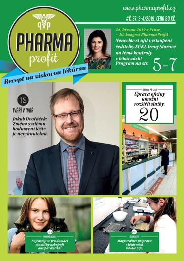 O čem si můžete přečíst v časopisu Pharma Profit 27/2019?