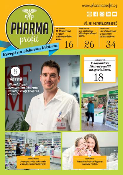 O čem si můžete přečíst v časopisu Pharma Profit 29/2019?