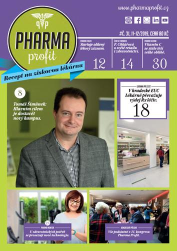 O čem si můžete přečíst v časopisu Pharma Profit 31/2019?