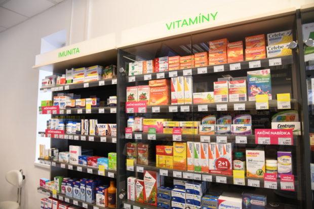 Přípravky na imunitu se nakupují hlavně v kamenných lékárnách