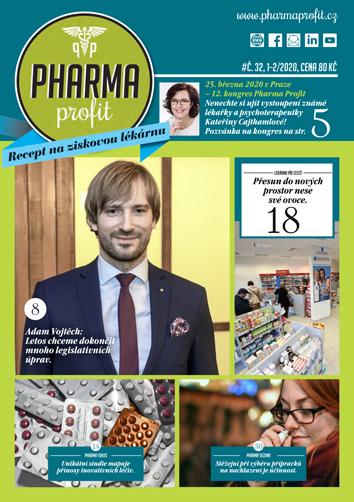O čem si můžete přečíst v časopisu Pharma Profit 32/2020?