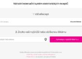 Spuštěn internetový rezervační systém eReceptů