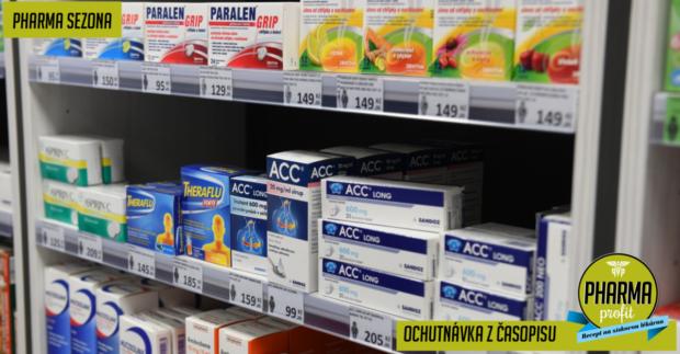 Při výběru přípravků na nachlazení hraje prim účinnost