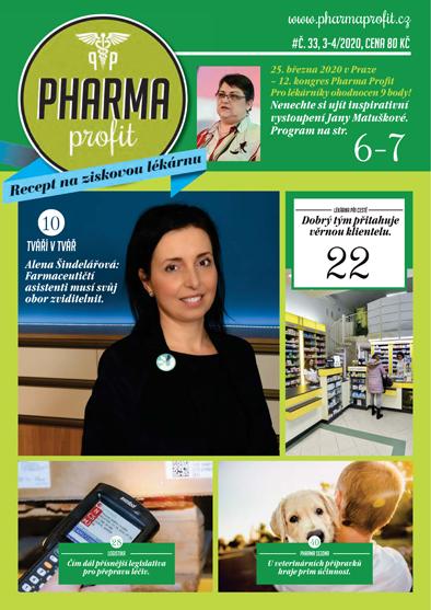 O čem si můžete přečíst v časopisu Pharma Profit 33/2020?