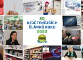 20 nejčtenějších článků na webu Pharma Profit za rok 2020