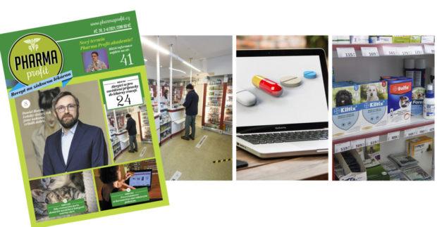 PP 39: Lékárenský trh v číslech, e-commerce v lékárenství, veterinární přípravky
